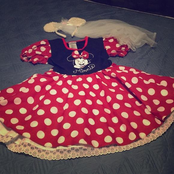 Kids Minnie Mouse Wedding Dress | Poshmark
